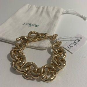 J. Crew Gold Link Bracelet